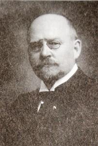 Jonas Severin Rasmussen (1850 - 1905). Telegrafdirektør fra 1895 til 1905