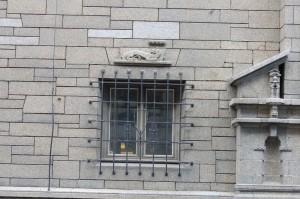 Detalj fra Telegrafbygningen