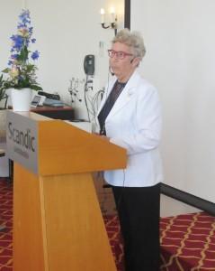 TPL-Anni på talerstolen landsmøte 2015