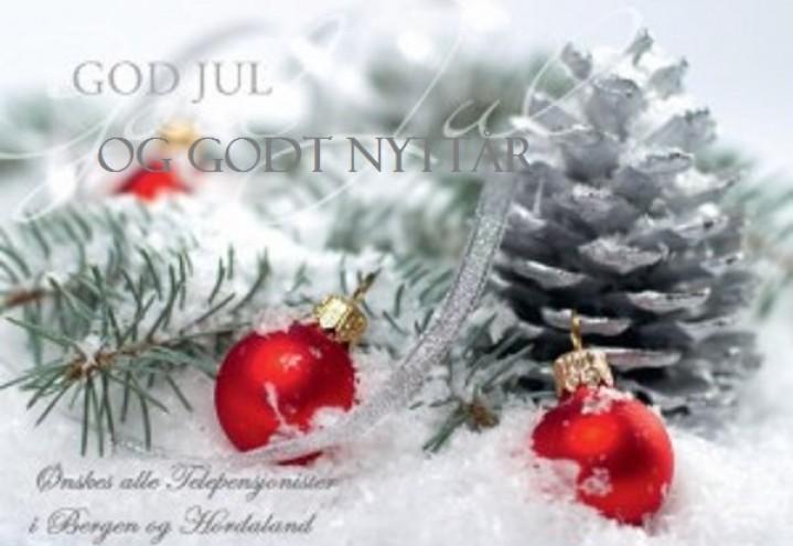 Julebrev til våre medlemmer