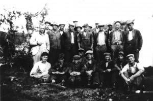 Sted: Saltfjellet?. Datering 1920-25. Bilde er utlånt fra Saltdal kommunes fotoarkiv.