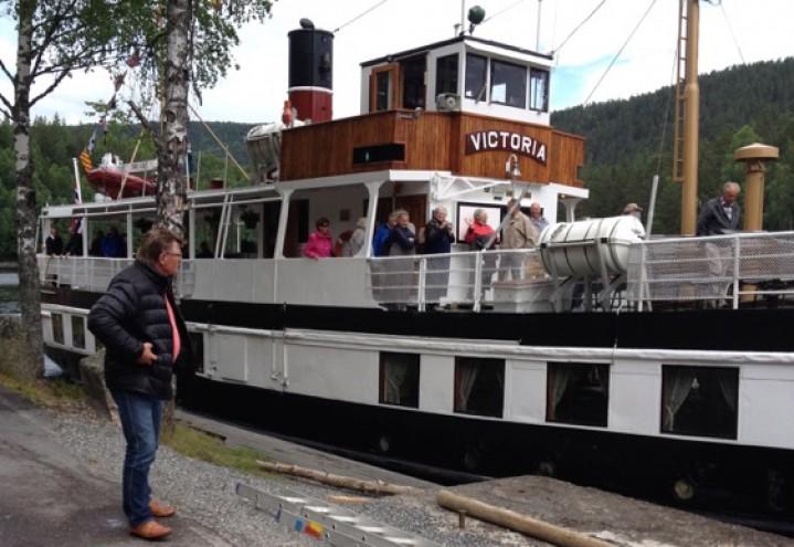 SAN-Turen 13.juni 2014 Telemarkskanalen og Vrådal hotell. (Termo Tours)