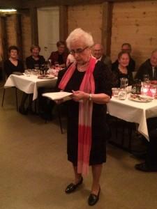 Jorunn Tveita Olsen fortalte også i år gode historier fra sin lange tjeneste for Televerket