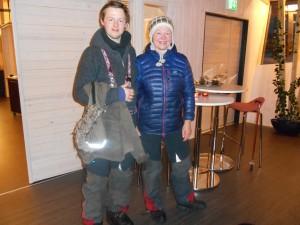 Tove Sørensen og sønn