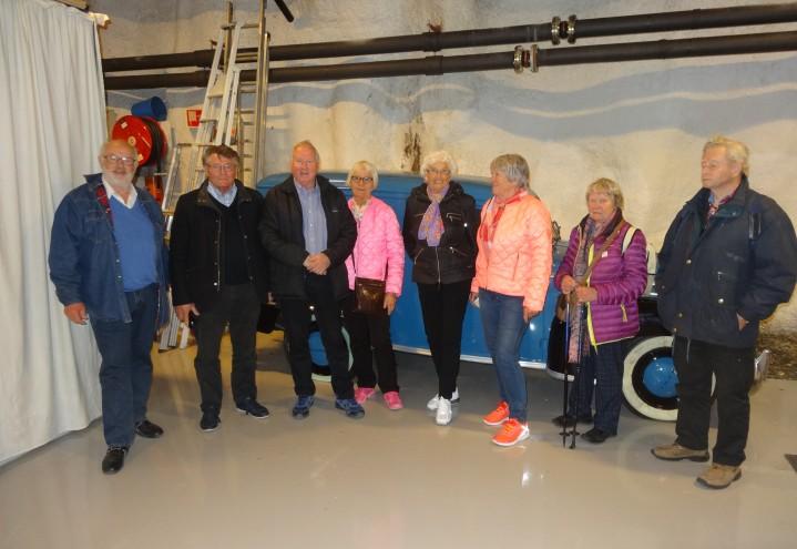 SAN-TPS i Sandefjord reiste på tur til Telemuseets lager på Fetsund 19 april 2016