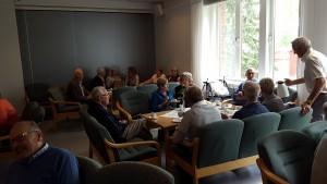 Telepensjonistene fra Gjøvik, Lillehammer og Hamar hadde en trivelig dag sammen.
