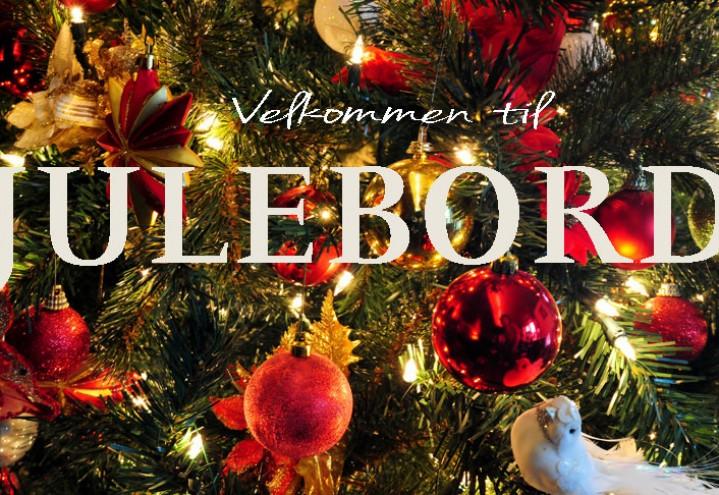 Invitasjon til Julebord den 7. desember 2016