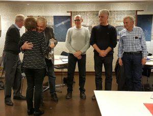 HAM- Årsmøtet 2017 Arne får blomster