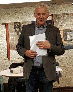 HAM- Årsmøtet 2017 Arne forteller fra flyttingen av Telemuseet