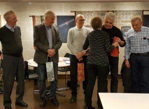HAM- Årsmøtet 2017 Hans får blomster