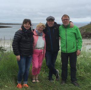 Gerd og barna Mette, Per og Pål