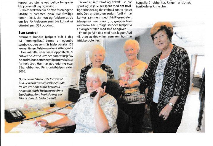 Pensjonisthjelperne på Hamar