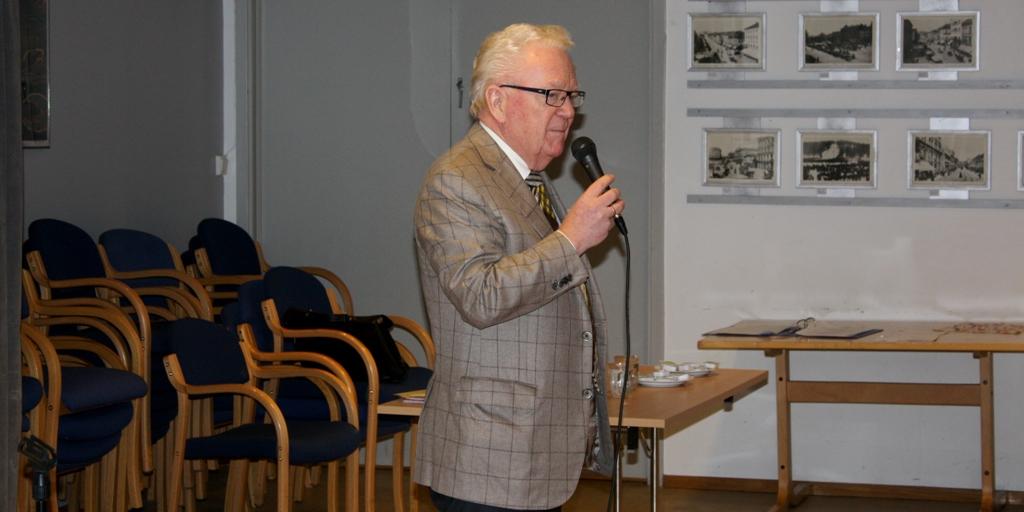 Geir Helljesen på medlemsmøte 28. februar 2017