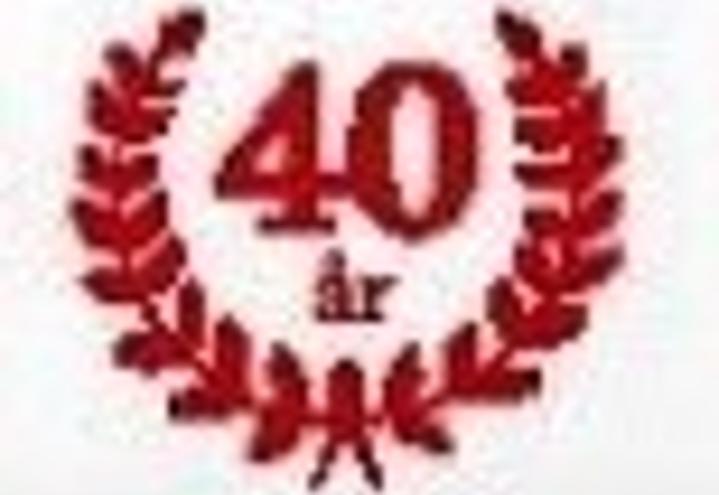 Invitasjon til 40-års jubileum 2018