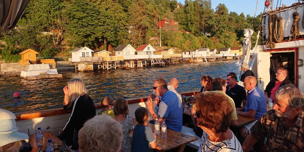 Reketur på Oslofjorden