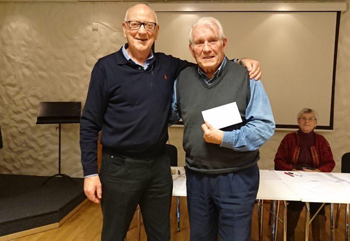 Bjarne Ulvang slutter i styret i Bergen og Hordaland etter 21 år som kasserer.
