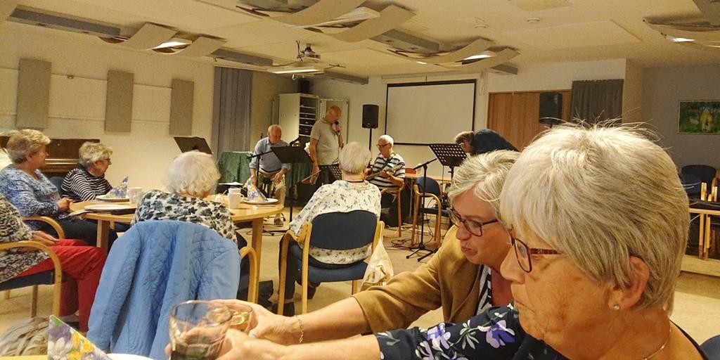 Medlemsmøte med «Visevennene fra Rælingen»
