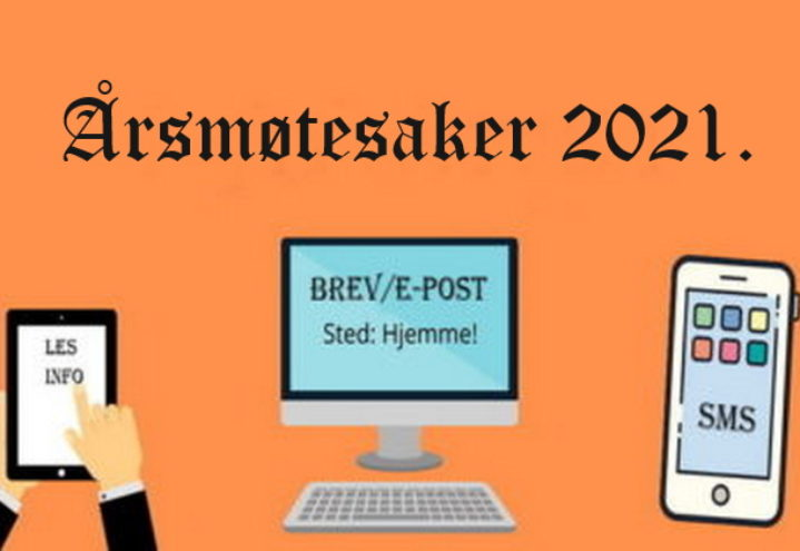 Årsmøtesaker 2021