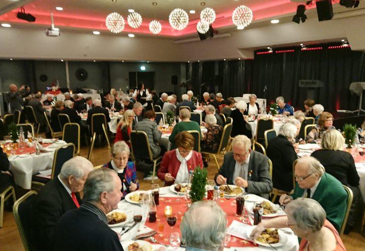 Telepensjonistene i Bergen og Hordaland avholdt sitt julebord på Scandic Hotell i Bergen den 2. desember.