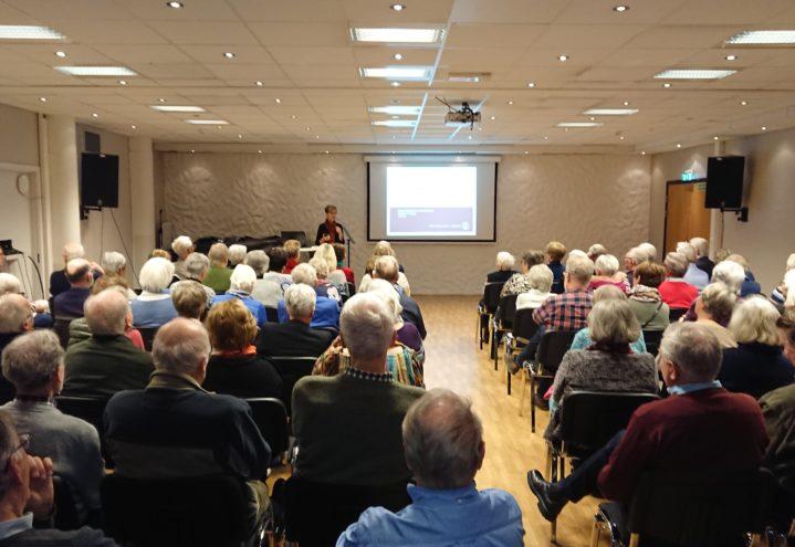 Medlemsmøtet i Bergen 14. januar.