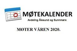 Møteprogram Ålesund 2020