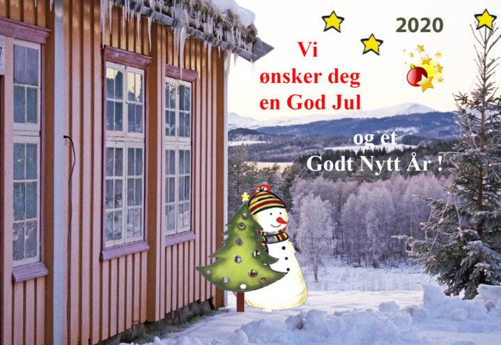 Vi vil få ønske deg en God Jul og et Godt Nytt År