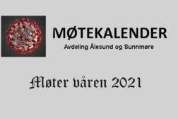 Møteprogram Ålesund 2021.