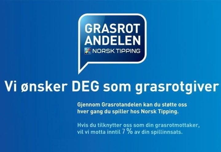 Grasrotgiver – Norsk Tipping.