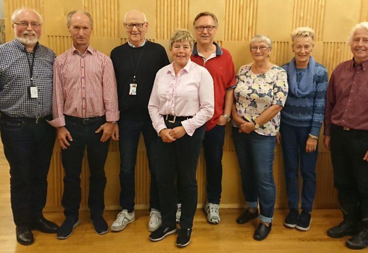 Nytt styre er valgt i Telepensjonistene Bergen og Hordaland 2021.